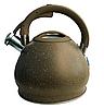 Чайник Edenberg EB-1976 зі свистком з нержавіючої сталі 3,5 л індукція | Свистячий металевий чайник, фото 3
