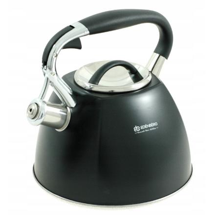Чайник Edenberg EB-1982 зі свистком з нержавіючої сталі 3 л | Свистячий металевий чайник