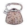 Чайник Edenberg EB-1985 зі свистком з нержавіючої сталі 3 л   Свистячий металевий чайник, фото 2