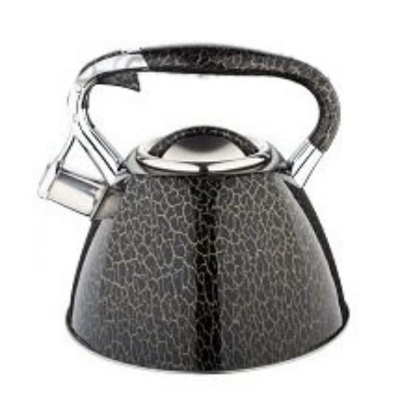 Чайник Edenberg EB-1985 зі свистком з нержавіючої сталі 3 л   Свистячий металевий чайник
