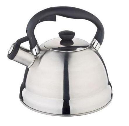 Чайник Edenberg EB-1987 со свистком из нержавеющей стали 2 л   Свистящий металлический чайник