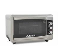 Духовка ASEL AF-0723 50-23 настольная серая | Электрическая духовая печь