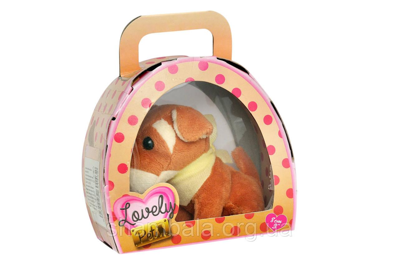 "Мягкая игрушка Rescue Runts ""Lovely pet"" в домике (068718)"