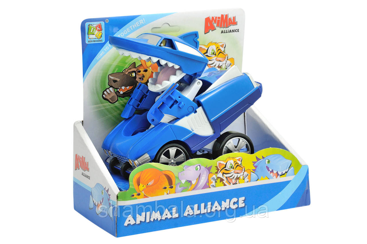 "Машинка-трансформер DKL ""Animal Alliance - shark"" (066523)"