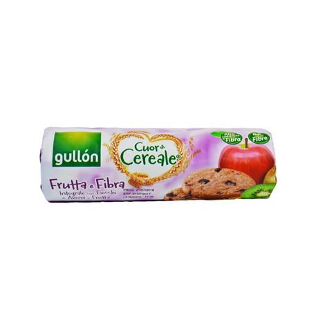 Печиво GULLON tube Cuor di Cereale фруктове зі злаками, 300г