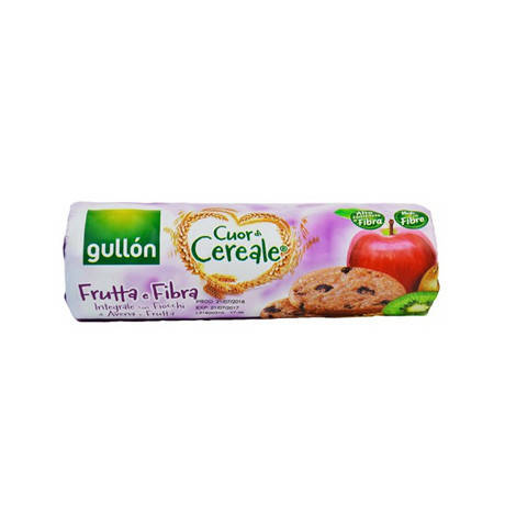Печиво GULLON tube Cuor di Cereale фруктове зі злаками, 300г , фото 2