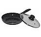 Сковорода Edenberg EB-766 с антипригарным мраморным покрытием 24 см, фото 4