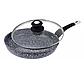 Сковорода Edenberg EB-9168 з двостороннім гранітним покриттям 28 см, фото 2