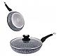 Сковорода Edenberg EB-9168 з двостороннім гранітним покриттям 28 см, фото 3