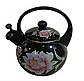 Чайник Edenberg EB-1780 со свистком 2,5 л индукция | Свистящий металлический чайник, фото 3