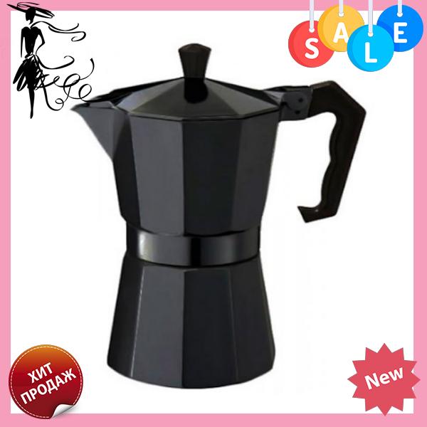 Гейзерная кофеварка Edenberg EB-1817 на 9 чашек | турка Эденберг