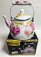 Чайник Edenberg EB-3358 эмалированный с рисунком 4 л, фото 4
