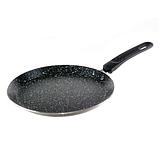 Сковорода млинна Edenberg EB-3394 з мармуровим антипригарним покриттям 20 см індукційне дно, фото 2