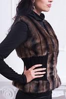 Меховая жилетка женская 107  (К.О.Н.) , фото 1