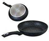 Сковорода Edenberg EB-4101 з мармуровим антипригарним покриттям 20 см, фото 2