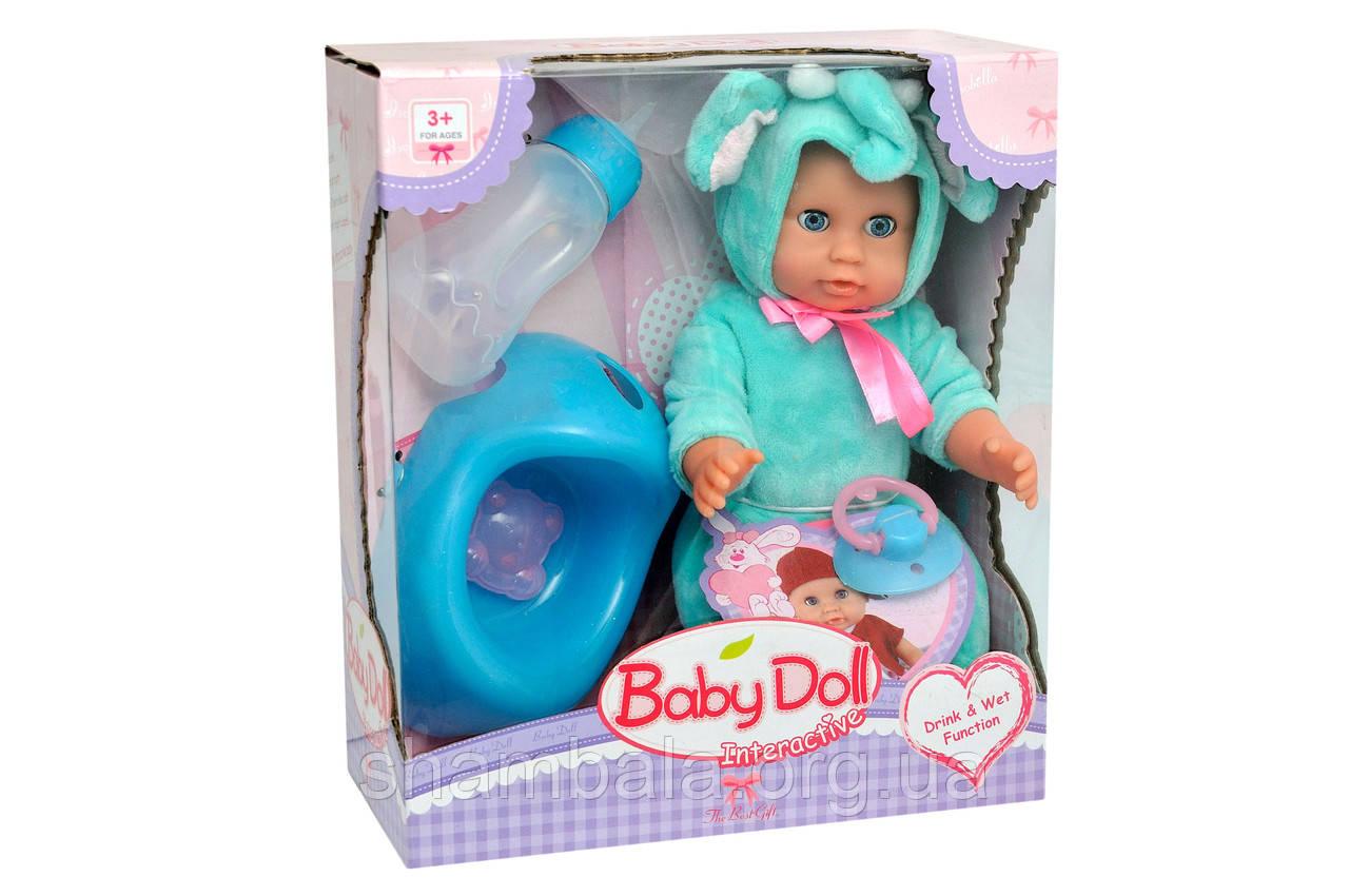 "Набор пупс Magic Tears ""Baby doll Interactive"" с бутылочкой (067803)"