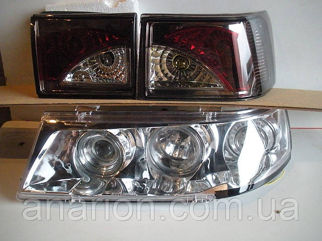 Тюнинг на ВАЗ 2110 фары+задние фонари №6