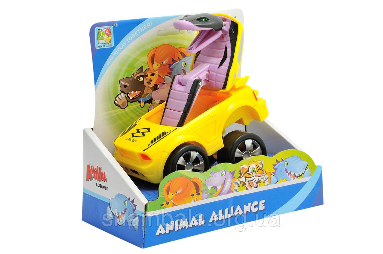 """Машинка-трансформер DKL """"Animal Alliance - cobra"""" (066523)"""