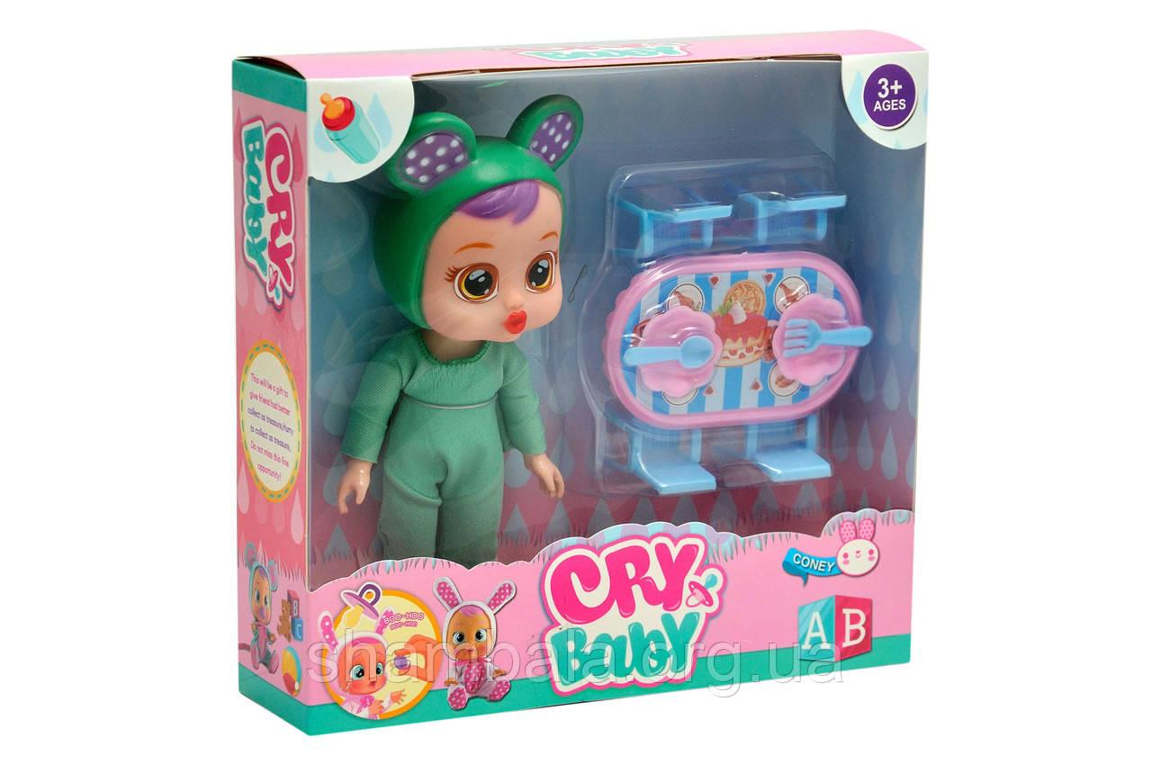 """Набор пупс Magic Tears """"Cry baby - coney"""" зеленая пижама (067421)"""