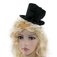 Шляпка на ободке Цилиндр
