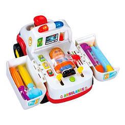 """Детская машина """"Скорая помощь"""" 836 с инструментами"""