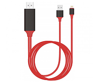 Адаптер переходник Lightning to HDMI for iPhone/iPad Digital 1080P to 4K HDTV 2m