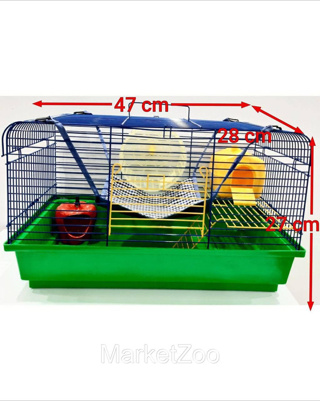 """Клетка для крысы """"Чарли 2 +комплектация"""""""