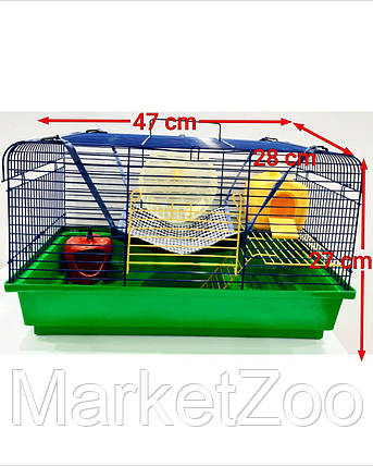 """Клетка для крысы """"Чарли 2 +комплектация"""", фото 2"""
