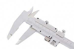 Штангенциркуль, 200 мм, цена деления 0,02 мм, металлический, с глубиномером // MTX 3163259