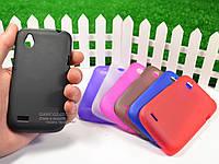 Силиконовый TPU чехол для HTC Desire V (t328w)