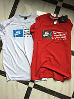 Мужская стильная,молодежная футболка Nike.Производство Турция.