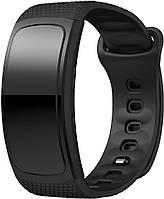 Оригинальный ремешок Samsung Gear Fit 2 / Fit 2 Pro (S) Black (Самсунг Гир Фит 2 Про)
