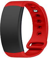 Оригинальный ремешок Samsung Gear Fit 2 / Fit 2 Pro (S) Red (Самсунг Гир Фит 2 Про)
