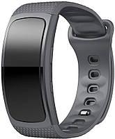 Оригинальный ремешок Samsung Gear Fit2 / Fit2 Pro (L) Grey (Самсунг Гир Фит 2 Про)