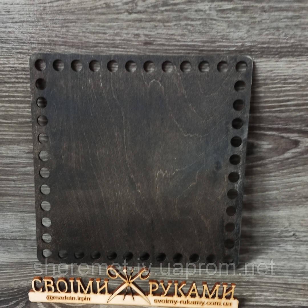 Донышки квадрат для вязанных корзинок