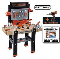 Детская мастерская инструментов игровой набор для мальчика Smoby Ultimate Black and Decker 360702