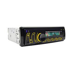 Автомагнітола Pioneer 8506 1DIN USB RGB-підсвічуванням та пультом (1дин магнітола піонер)