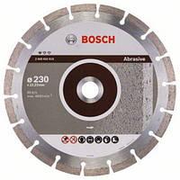 Диск отрезной сегментный Bosch по абразивным материалам Professional 230. Только Оригинал!!