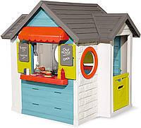 Домик для детей Smoby Шеф Хаус с кухней кассой посудой и аксессуарами 810403