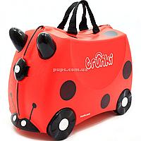 Чемоданчик Trunki детский для путешествий Harley Ladybug (0092-GB01)