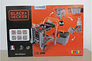Мастерская 3 в 1, Тележка с инструментами игрушечная Black & Decker Smoby 360202, фото 2