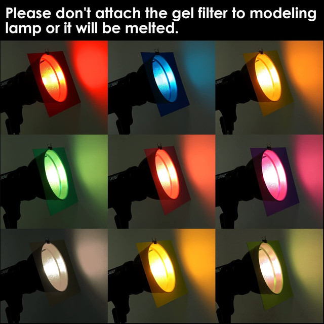 Светофильтры на приборы цветные