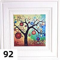 Панель картина самоклеющаяся 3D Цветное дерево