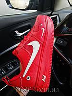 Женские кроссовки в стиле Nike Air Force(Sportswear) RED