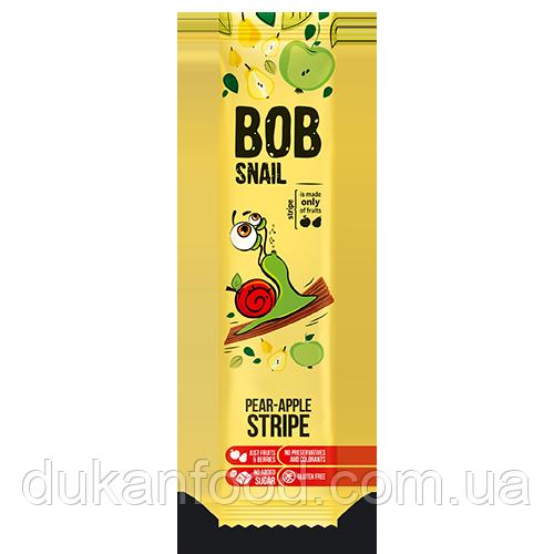 Натуральные конфеты страйпс яблоко-груша 14 г