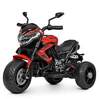 Детский мотоцикл Bambi M 4152EL-3 красный