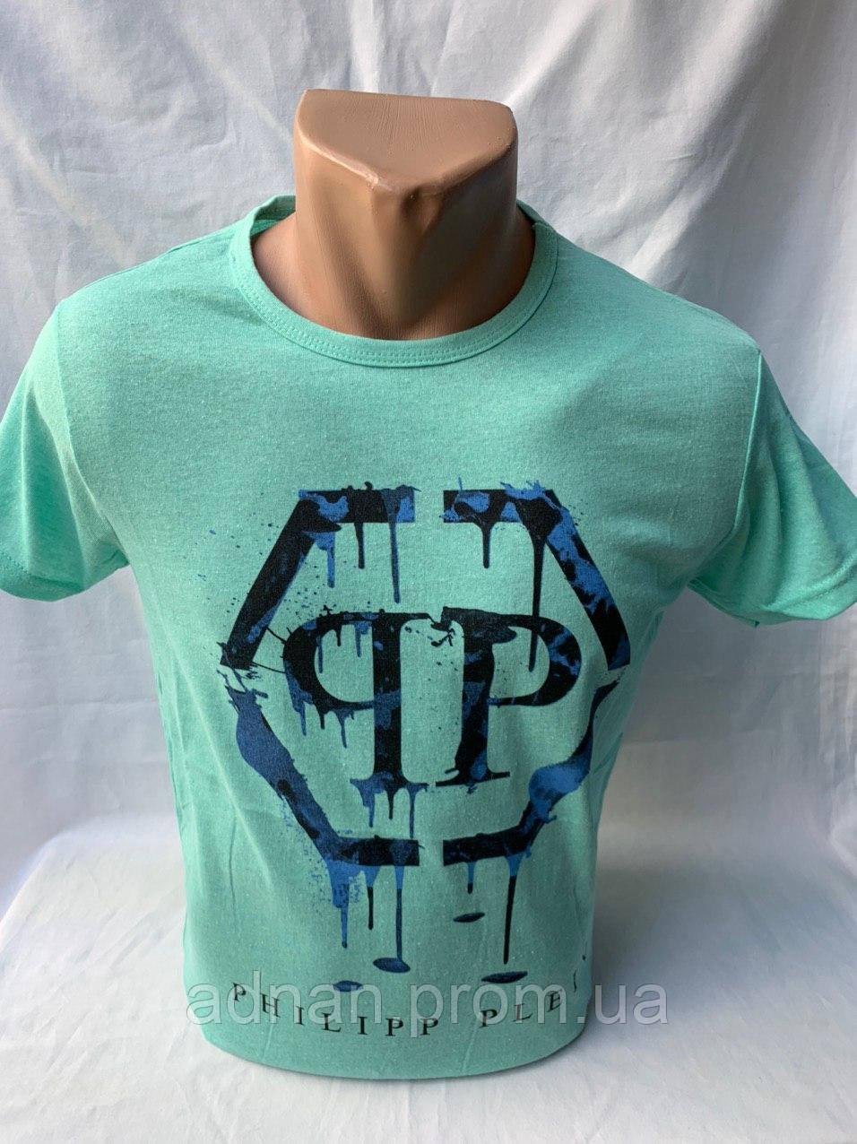 Футболка мужская фирмы KLAS 23 х/б PHILIPP PLEIN 005 \ купить футболку мужскую оптом
