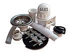 Кухонная мойка Galati Amina 750*440*180 Textura сталь 0.8 мм, фото 6