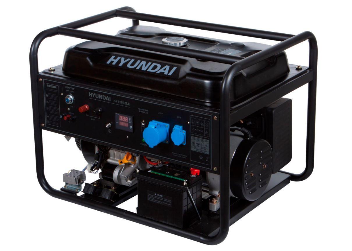 Генератор бензиновий Hyundai HY 12500LE