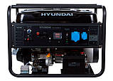Генератор бензиновий Hyundai HY 12500LE, фото 7